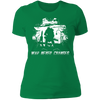 War Never Changes - T-Shirt-T-Shirt-CustomCat-Women's T-Shirt-Kelly Green-X-Small