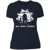 War Never Changes - T-Shirt-T-Shirt-CustomCat-Women's T-Shirt-Midnight Navy-X-Small