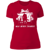 War Never Changes - T-Shirt-T-Shirt-CustomCat-Women's T-Shirt-Red-X-Small