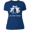 War Never Changes - T-Shirt-T-Shirt-CustomCat-Women's T-Shirt-Royal Blue-X-Small