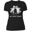War Never Changes - T-Shirt-T-Shirt-CustomCat-Women's T-Shirt-Black-X-Small