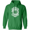 Wibbly Wobbly Timey Wimey - Hoodie-Hoodie-CustomCat-Irish Green-S-