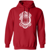Wibbly Wobbly Timey Wimey - Hoodie-Hoodie-CustomCat-Red-S-