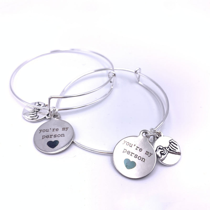 You're My Person Bracelet - Pair