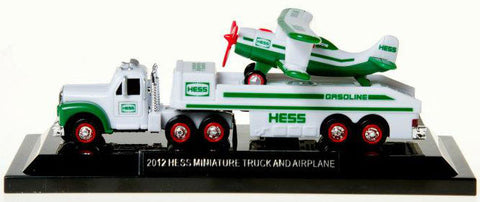 2012 Hess Miniature Truck and Airplane