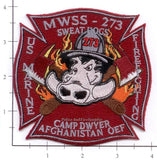 Afghanistan - Camp Dwyer MWSS-273 Fire Dept Patch v1
