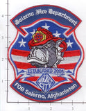 Afghanistan - Salerno Fire Dept Patch v1