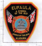 Alabama - Eufala Fire Dept Patch