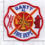 Alabama - Gantt Fire Dept Patch