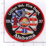 Alabama - Lillian Volunteer Station 37 Fire Dept Patch