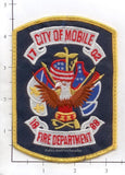 Alabama - Mobile Fire Dept Patch