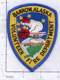 Alaska - Barrow Volunteer Fire Dept Patch