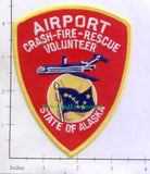 Alaska - Alaska Airport Crash Fire Rescue Volunteer Fire Dept Patch