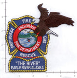 Alaska - Anchorage Fire Dept -  Eagle River Fire Rescue Patch v1