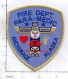 Alaska - Anchorage Fire Dept Paramedic Patch