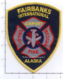 Alaska - Fairbanks Internatioanl Airport Crash Fire Rescue Fire Dept Patch