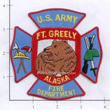 Alaska - Fort Greely Fire Dept Patch