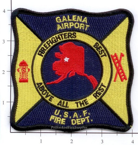 Alaska - Galena Airport USAF Fire Dept Patch