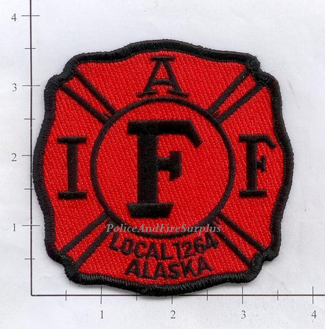 Alaska - IAFF Local 1264 Fire Dept Patch