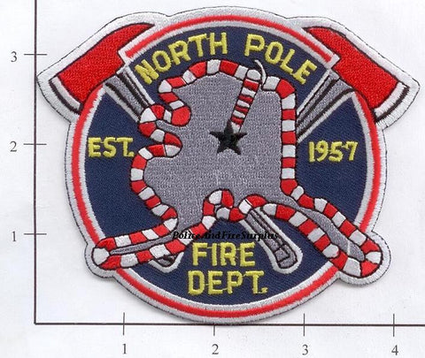 Alaska - North Pole Fire Dept Patch