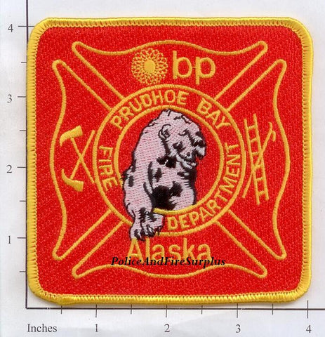 Alaska - Prudhoe Bay Fire Dept Patch