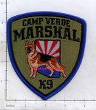 Arizona - Camp Verde K-9 Marshall Police Dept Patch