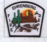 Arizona - Ehrenberg Fire Dept Patch