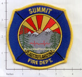 Arizona - Flagstaff Summit Fire Dept Patch