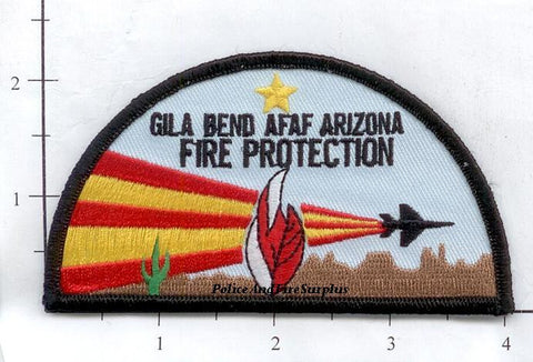 Arizona - Gila Bend AFAF Fire Protection Fire Dept Patch