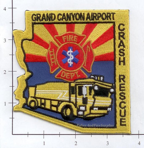Arizona - Grand Canyon Airport Crash Rescue Fire Dept Patch