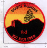 Arizona - Granite Mountain Hot Shot Crew R-3 Fire Dept Patch