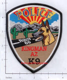 Arizona - Kingman K-9 Police Dept Patch