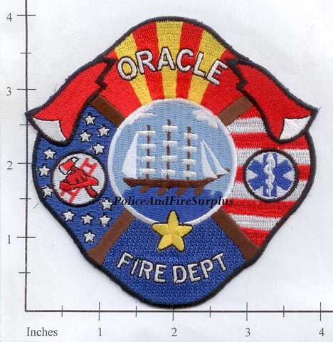 Arizona - Oracle Fire Dept Patch