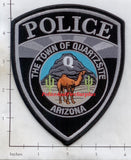 Arizona - Quartzsite Police Dept Patch