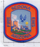 Arizona - Sedona Fire EMS Fire Dept Patch