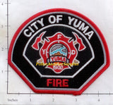 Arizona - Yuma Fire Dept Patch v2 - Black Background