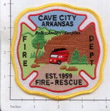Arkansas - Cave City Fire & Rescue Fire Dept Patch