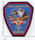 Arkansas - Collegeville Fire & Rescue Fire Dept Patch