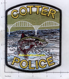 Arkansas - Cotter Police Dept Patch