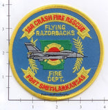 Arkansas - Forth Smith 188 Crash Fire Rescue Fire Dept Patch