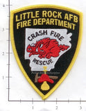 Arkansas - Little Rock Air Force Base Fire Dept Patch