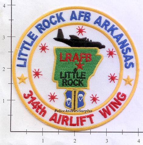 Arkansas - Little Rock Air Force Base 314th Airlift Wing Patch