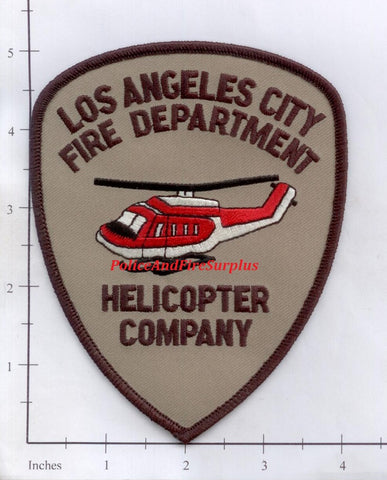 California - Los Angeles City Helicopter Company Fire Dept Patch