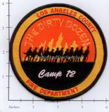 California - Los Angeles County Camp 12 Fire Dept Patch
