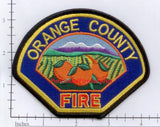 California - Orange County Fire Patch