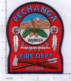California - Pechanga Fire Dept Patch