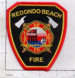 California - Redondo Beach Fire Dept Patch