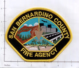 Copy of California - San Bernardino County Fire Agency Patch