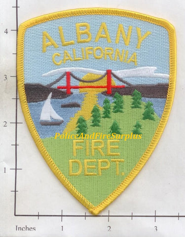 California - Albany Fire Dept Patch