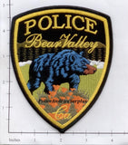 California - Bear Valley Police Dept Patch v1